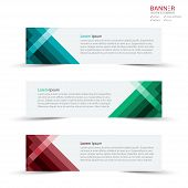 Banner Design Template And Mockup Minimalist Style Vector. Design For Business Or Banner Layout, Bro poster