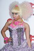LAS VEGAS - SEPTEMBER 24: Nicki Minaj appears on the red carpet at the 2011 iHeartRadio Music Festiv