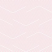 Vector Geometric Lines Pattern. Pink And White Abstract Graphic Striped Ornament. Simple Geometry, S poster