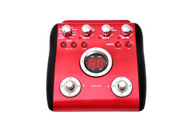 picture of ibanez  - Guitar multi effects pedal isolated on white - JPG