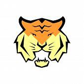 Vector Illustration Of A Tiger. International Tiger Day. July 29. Striped Predator. Bengalese Tiger. poster