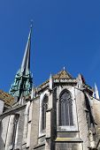 Sainte b�?�©nigne cathedral in Dijon France