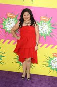 LOS ANGELES - MAR 23:  Raini Rodriguez arrives at Nickelodeon's 26th Annual Kids' Choice Awards at t