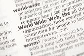 foto of pronunciation  - World Wide Web definition in the dictionary - JPG
