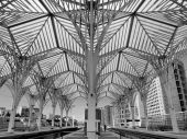 foto of calatrava  - Train station designed for Santiago Calatrava in Lisbon Portugal - JPG