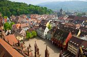 Buildings In Freiburg Im Breisgau City, Germany