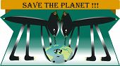 foto of polution  - The planet must be saved from polution - JPG