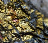 image of iron pyrite  - Crystalnugget gold bronze copper iron - JPG