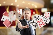 stock photo of gambler  - Bluff - JPG