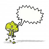 foto of squirting  - cartoon squirting lime - JPG