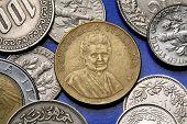 stock photo of lira  - Coins of Italy - JPG