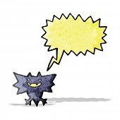 picture of vampire bat  - cartoon vampire bat - JPG