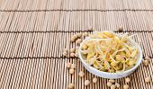 stock photo of soybean sprouts  - Preserved Soy Sprouts  - JPG