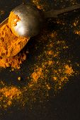 stock photo of indian food  - spices for pizza and delicious Indian food - JPG
