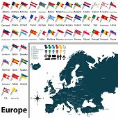 ������, ������: Political Map Of Europe