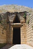 stock photo of argo  - Treasury of Atreus or tomb of Clytemnestra - JPG