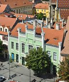 stock photo of sibiu  - sibiu romania hermes house now Museum of Universal Ethnography - JPG