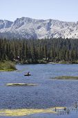 image of mammoth  - Landscape of Mammoth Lake a scenic nature land in California on August 9 2013 - JPG