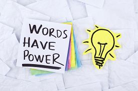 pic of motivation  - Words Have Power  - JPG