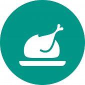 stock photo of eatables  - Chicken - JPG