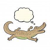 picture of alligators  - cartoon alligator - JPG