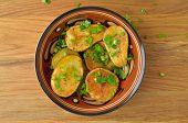 stock photo of baked potato  - Oven - JPG