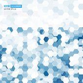 image of hexagon  - Vector abstract color 3d hexagonal - JPG