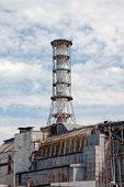 stock photo of radium  - Chernobyl atomic power station - JPG