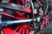 Steam Locomotive Wheel Mechanism