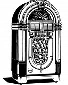 Jukebox 1 - Retro Clipart Illustration