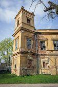 Side View Of Former Mediaeval Castle In Veseli Nad Moravou, Small Town In Historical Moravia Region, poster