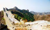 stock photo of qin dynasty  - Great Wall of China at Jinshanling - JPG