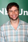 LAS VEGAS - APR 22:  Taran Killam at the NBCUniversal Summer Pres Day 2013 at the Huntington Langham
