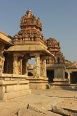 foto of krishna  - Detail of the Krishna temple in Hampi a village on the place of the great ancient city Vijayanagara - JPG