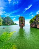 pic of james bond island  - James Bond island Thailand travel destination - JPG