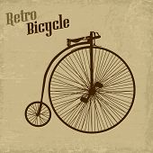 Bicycle Vintage Poster