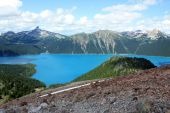 Garibaldi Lake And Black Tusk