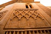 foto of mausoleum  - Aragon Teruel Los Amantes mausoleum in San Pedro Mudejar church Spain - JPG