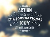 stock photo of foundation  - Quote Typographical Poster - JPG