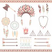 stock photo of indian culture  - Arrows - JPG