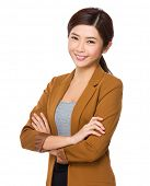 foto of politeness  - Young businesswoman - JPG