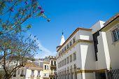 foto of faro  - The street in historic center of Faro Portugal - JPG