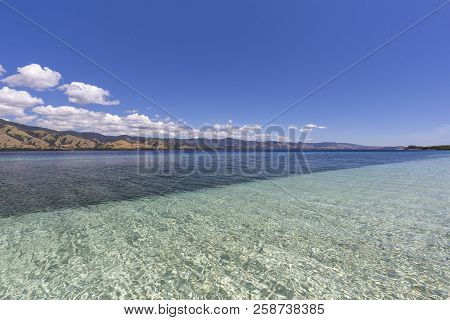 Clear Tropical Water On A