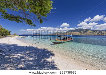 Boats On The Beach On