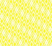 Abstract Geometric Pattern. A Seamless Vector Background. White And Yellow Ornament. Graphic Modern  poster