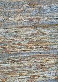 Metamorphic Rock Surface Showing Granates And Bands Of Biotite And Quartz In Haninge, Stockholm, Swe poster