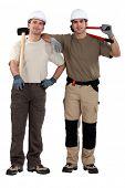 pic of friendship belt  - duo of craftsmen - JPG