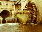 Bayeux Water Wheel