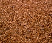 pic of coir  - One Block of Coconut Coir Husk Fiber Chips surface texture background - JPG