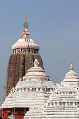 stock photo of jagannath  - Tower of the Jagannath Temple in Pur India - JPG